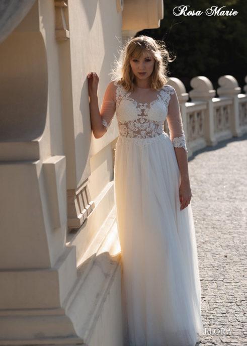 Suknia ślubna FLORA